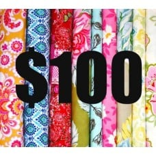 Gift Voucher100 Fabric Traders