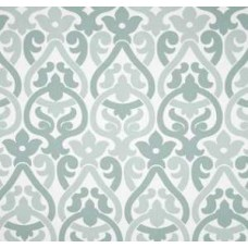 Alex In Pale Grey, Light Blue And White Home Decor Cotton Fabric Fabric Traders