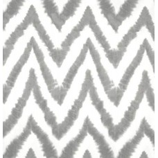 REMNANT - Chevron Zig Zag Diva in Storm Grey Home Decor Cotton Fabric Fabric Traders
