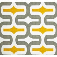 Embrace in Grey & Yellow Home Decor Cotton Fabric Bundle - OFFCUT Fabric Traders