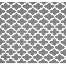 Fulton in White and Charcoal Home Decor Cotton Fabric Fabric Traders