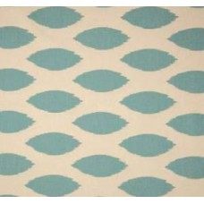 Go Chipper in Blue and Natural Home Decor Cotton Fabric Fabric Traders