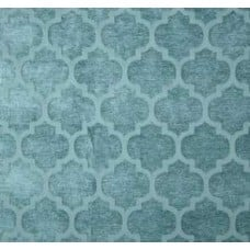 Jacquard Tempo in Chenille Teal Home Decor Fabric Fabric Traders