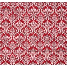 Madison in Red and White Home Decor Cotton Fabric Fabric Traders