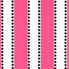 Stripe Lou Lou Hot Pink Home Decor Cotton Fabric Fabric Traders