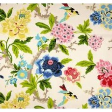 Candid Moment Gardenia Home Decor Fabric by Waverly Fabric Traders