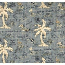 Island Song Ocean by Tommy Bahama Outdoor Fabric Fabric Traders
