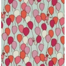 Balloon Children at Play Cotton Fabric by Michael Miller Fabric Traders