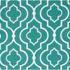 Gates of Starlet in Teal Outdoor Fabric Fabric Traders