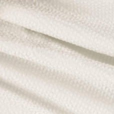 Seersucker Classic Cotton Fabric in White by Kaufman Fabric Traders