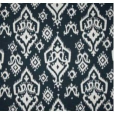 Spirit of Raji in Navy Home Decor Cotton Fabric Fabric Traders