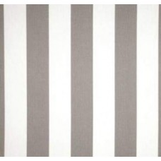Stripe Storm Grey & White Outdoor Fabric Fabric Traders