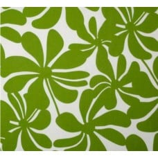 A Jumbo Petals in Green Outdoor Fabric Fabric Traders