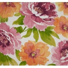 Beautiful Garden Muree Amber Outdoor Fabric Fabric Traders