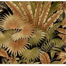 Breeze Bahamian Outdoor Fabric Black by Tommy Bahama Fabric Traders