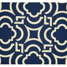 Cool Carmody in Navy Outdoor Fabric Fabric Traders