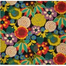 Floral Eclipse Outdoor Polyester Fabric Fabric Traders