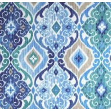 Fresca Polyester Outdoor Fabric in Cobalt Fabric Traders