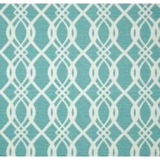 Hedda Lattice Design Outdoor Fabric in Bermuda Fabric Traders