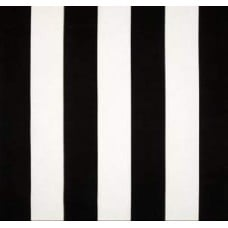 Jumbo Vertical Stripe in Black and White Home Decor Fabric Fabric Traders