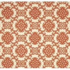 Medallion Isle in Rust and Cream by Tommy Bahama Outdoor Fabric Fabric Traders