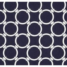 Outdoor Polyester Fabric Rings Navy Blue Fabric Traders