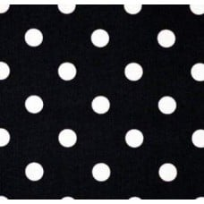 Black and White Polka Dot Home Decor Cotton Fabric Traders