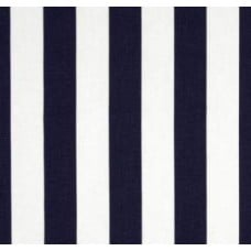 Canopy Stripe in Navy Blue Home Decor Cotton Fabric Fabric Traders