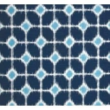 Fyn Sofie Navy Cotton Home Decor Cotton Fabric Fabric Traders