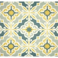 Harford Macon Spirit Home Decor Cotton Fabric in Safron Fabric Traders