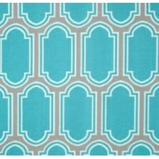 REMNANT - Ocean Glass Blue Outdoor Fabric Fabric Traders