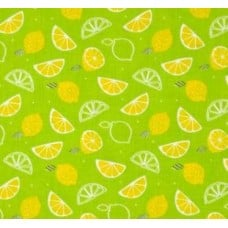 Scented Fabric Lemon Zest in Green Fabric Traders