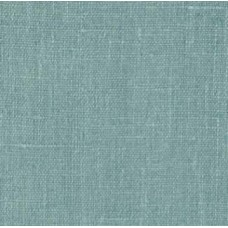 REMNANT - 100 European Linen Teal Ice Fabric Traders