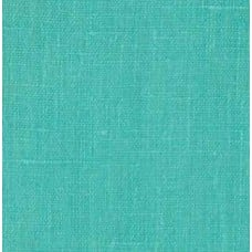 100 European Linen Turquoise Fabric Traders
