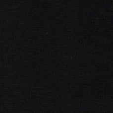 Canvas Home Decor Fabric in Black Heavy Weight Fabric Traders
