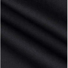 Dyed Solid Black Cotton Duck Home Decor Fabric Fabric Traders