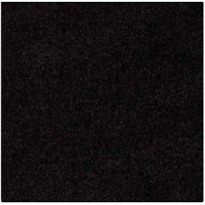 REMNANT - Home Decor Solid Upholstery Velvet Fabric Black Fabric Traders