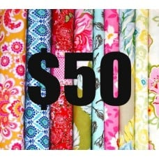 Gift Voucher50 Fabric Traders