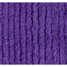 Thick Chenille in Deep Purple Fabric Traders