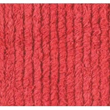 Thick Chenille in Red Fabric Traders