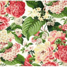 Floral Flourish Spring Home Decor Fabric by Waverly Fabric Traders