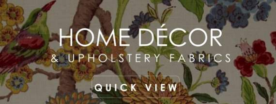 Home Decor & Upholstery