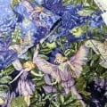FABRIC STACK - Craft, Quilting And Apparel Cotton Fabrics 40cm in Fairies
