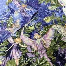 FABRIC STACK - Craft, Quilting And Apparel Cotton Fabrics 40cm in Fairies  Fabric Traders