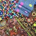 FABRIC STACK - Craft, Quilting And Apparel Cotton Fabrics 45cm Dots and Spots  Fabric Traders