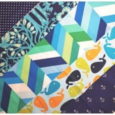 GRAB BAG - Cotton Quilting And Apparel Fabrics Blues