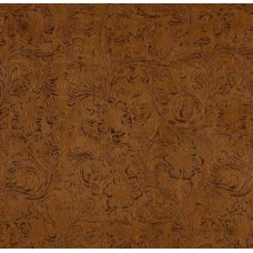 Faux Leather Luxury Textured Fabric in Brown - OFFCUT  Fabric Traders