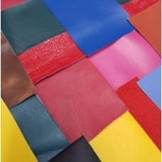 Vinyl Fabric Craft Pack of Assorted Colour Pieces 45cm x 45cm Fabric Traders