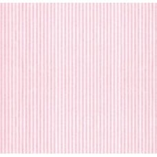Seersucker Classic Stripe Cotton Fabric in Pink Fabric Traders