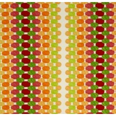 Oval Dots in Citrus Outdoor Fabric